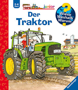 Spiralbindung Wieso? Weshalb? Warum? junior: Der Traktor (Band 34) von Andrea Erne