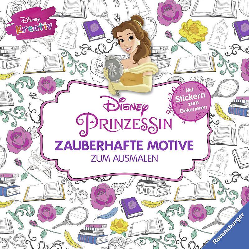 Disney Kreativ Disney Prinzessin Zauberhafte Motive Zum Ausmalen Buch Kaufen Ex Libris