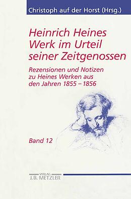 Kartonierter Einband Heinrich Heines Werk im Urteil seiner Zeitgenossen von Sikander Singh