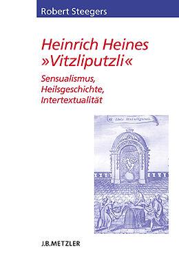 """Kartonierter Einband Heinrich Heines """"Vitzliputzli"""" von Robert Steegers"""