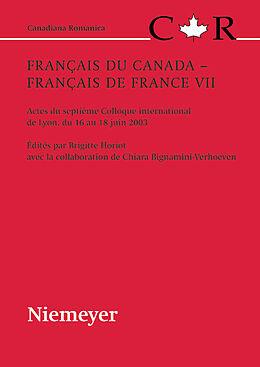 eBook (pdf) Français du Canada  Français de France VII de