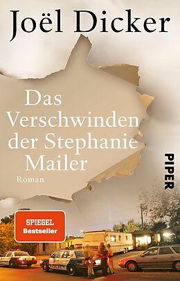 Kartonierter Einband Das Verschwinden der Stephanie Mailer von Joël Dicker