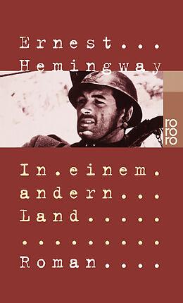 Kartonierter Einband In einem andern Land von Ernest Hemingway