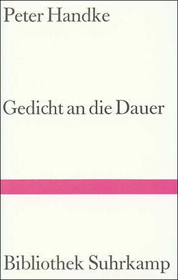 Gedicht an die Dauer [Versione tedesca]