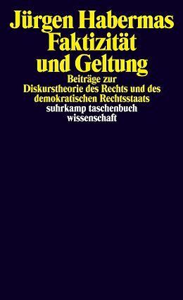 Faktizität und Geltung [Versione tedesca]