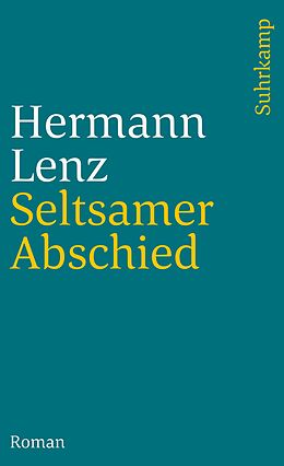 Kartonierter Einband Seltsamer Abschied von Hermann Lenz