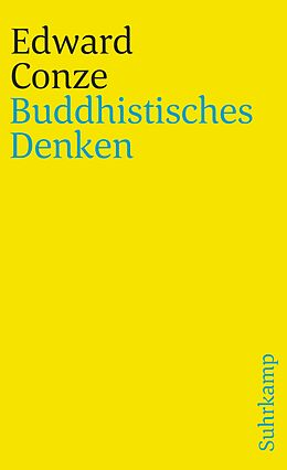 Kartonierter Einband Buddhistisches Denken von Edward Conze