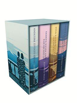 Fester Einband Neapolitanische Saga (4 Bände) von Elena Ferrante