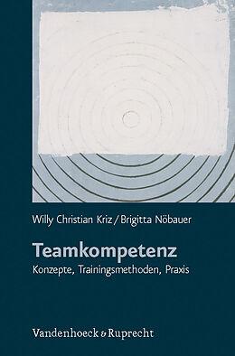 Paperback Teamkompetenz von Willy Christian Kriz, Brigitta Nöbauer