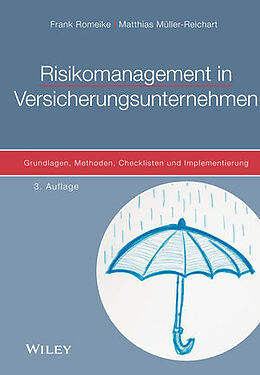 Fester Einband Risikomanagement in Versicherungsunternehmen von Frank Romeike, Matthias Müller-Reichart