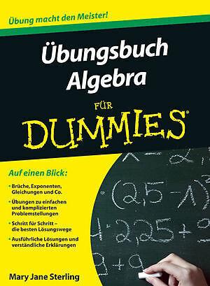 Übungsbuch Algebra für Dummies - Mary Jane Sterling, Alfons ...