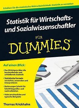Statistik für Wirtschafts- und Sozialwissenschaftler für Dummies [Versione tedesca]