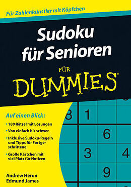 Sudoku für Senioren für Dummies [Version allemande]