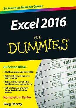 E-Book (epub) Excel 2016 für Dummies von Greg Harvey