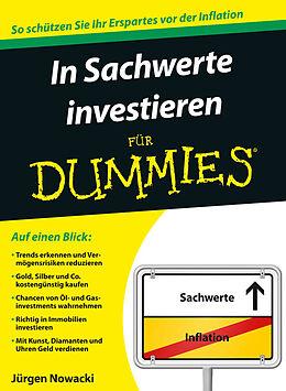 E-Book (epub) In Sachwerte investieren für Dummies von Jürgen Nowacki