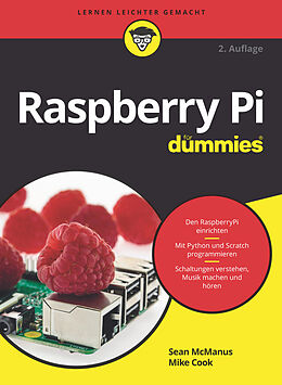 E-Book (epub) Raspberry Pi für Dummies von Sean McManus, Mike Cook