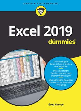 E-Book (epub) Excel 2019 für Dummies von Greg Harvey
