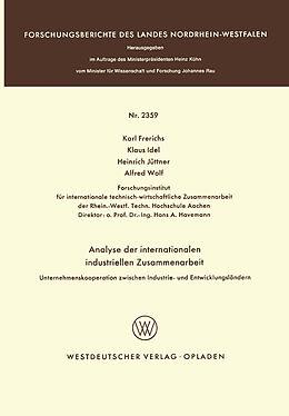 Cover: https://exlibris.azureedge.net/covers/9783/5310/2359/5/9783531023595xl.jpg