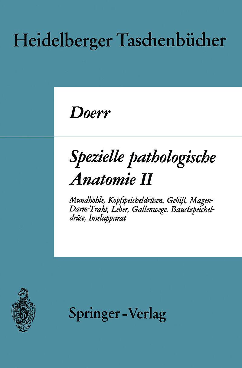 Spezielle pathologische Anatomie II - W. Doerr, Günter Ule - Buch ...