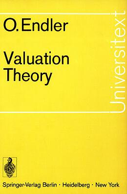 Kartonierter Einband Valuation Theory von Otto Endler