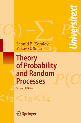 Kartonierter Einband Theory of Probability and Random Processes von Leonid Koralov, Yakov G Sinai