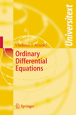 Kartonierter Einband Ordinary Differential Equations von Vladimir I. Arnold