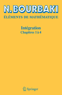 eBook (pdf) Intégration de N. Bourbaki