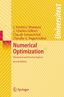 Kartonierter Einband Numerical Optimization von Joseph-Frédéric Bonnans, Jean Charles Gilbert, Claude Lemarechal