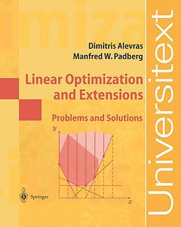 Kartonierter Einband Linear Optimization and Extensions von Manfred W. Padberg, Dimitris Alevras