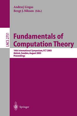 Cover: https://exlibris.azureedge.net/covers/9783/5404/5077/1/9783540450771xl.jpg