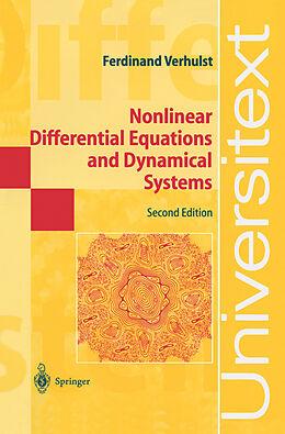 Kartonierter Einband Nonlinear Differential Equations and Dynamical Systems von Ferdinand Verhulst