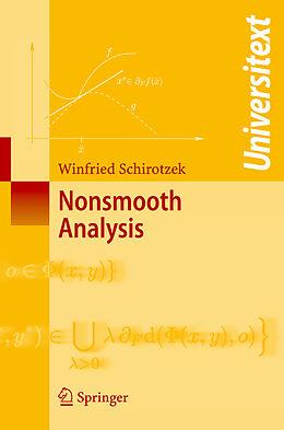 Kartonierter Einband Nonsmooth Analysis von Winfried Schirotzek