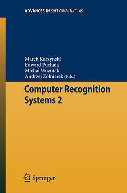 E-Book (pdf) Computer Recognition Systems 2 von Marek Kurzynski, Edward Puchala, Michal Wozniak