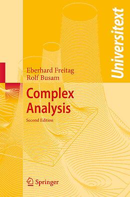 Kartonierter Einband Complex Analysis von Eberhard Freitag, Rolf Busam