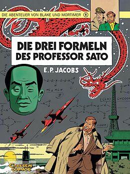 Kartonierter Einband Blake und Mortimer 8: Die drei Formeln des Professor Sato von Edgar-Pierre Jacobs