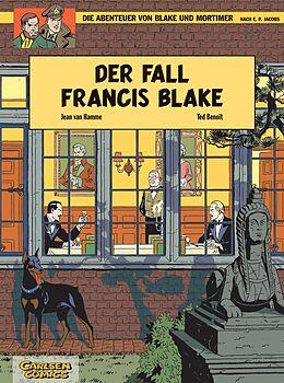 Kartonierter Einband Blake und Mortimer 10: Der Fall Francis Blake von Ted Benoît, Jean Van Hamme