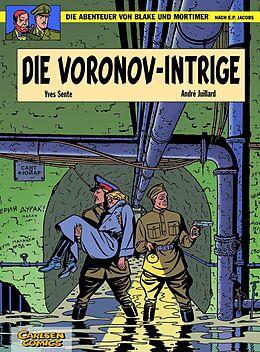 Kartonierter Einband Blake und Mortimer 11: Die Voronov-Intrige von Yves Sente, André Juillard