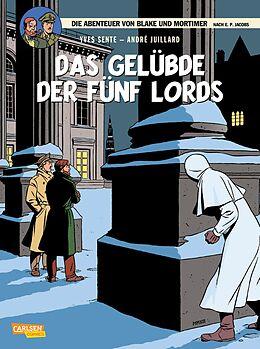 Kartonierter Einband Blake und Mortimer 18: Das Gelübde der fünf Lords von Yves Sente