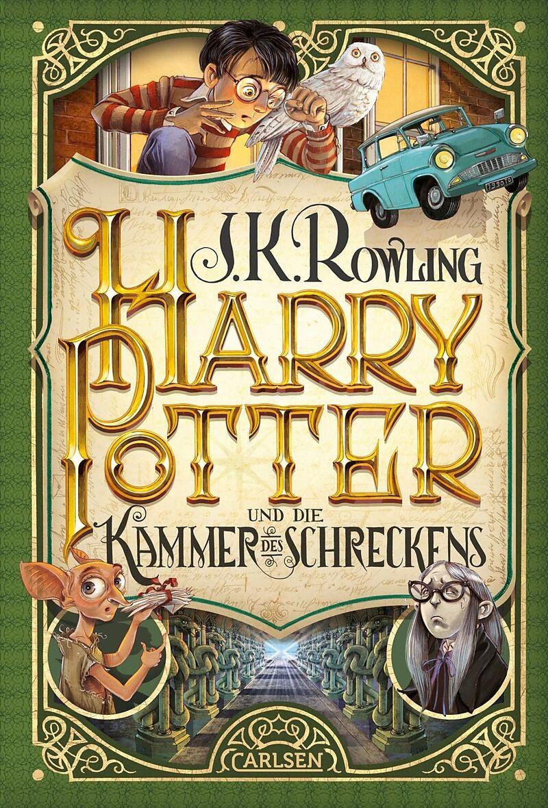 Harry Potter Und Die Kammer Des Schreckens Harry Potter 2