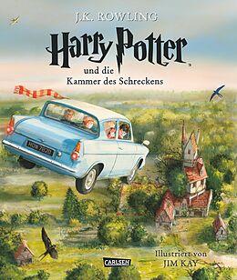 Fester Einband Harry Potter, Band 2: Harry Potter und die Kammer des Schreckens (vierfarbig illustrierte Schmuckausgabe) von Joanne K. Rowling