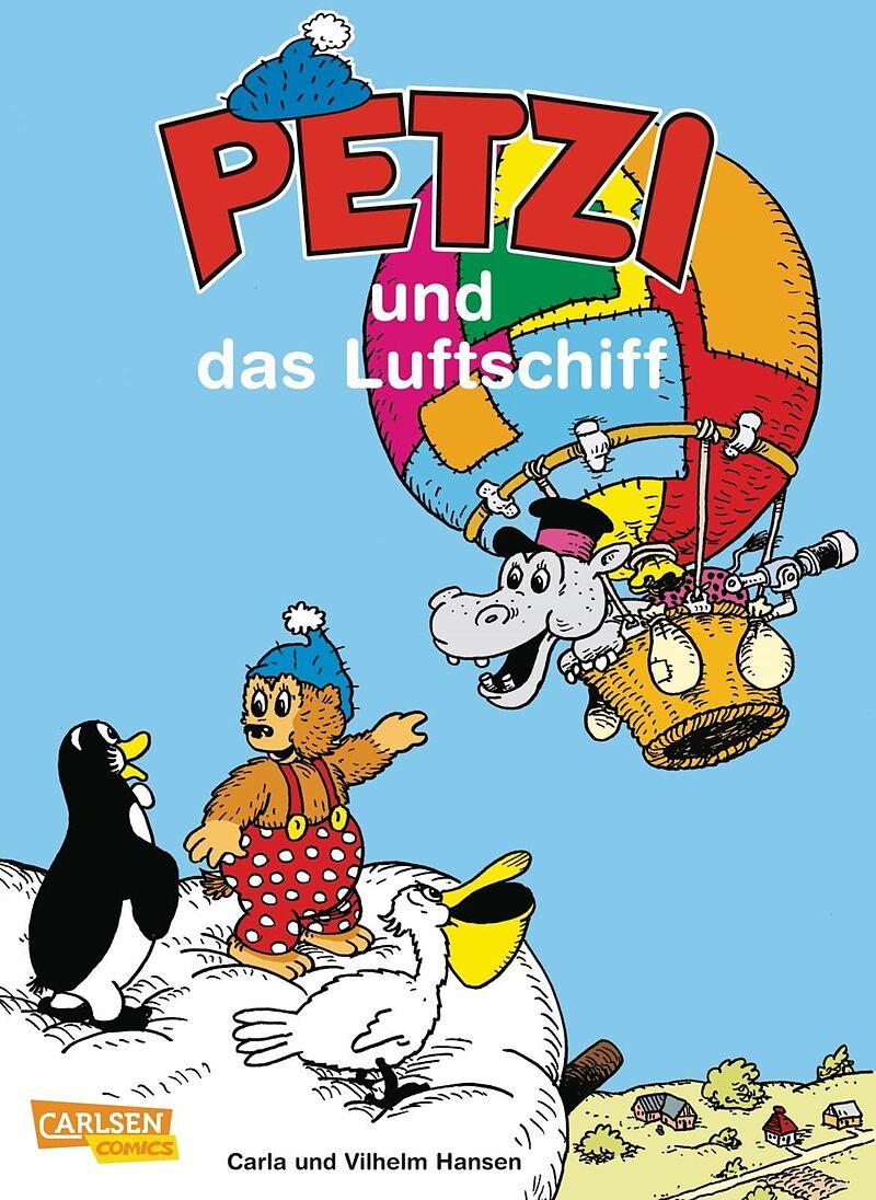 Petzi und das Luftschiff [Version allemande]
