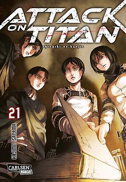 Attack on Titan 21 [Versione tedesca]