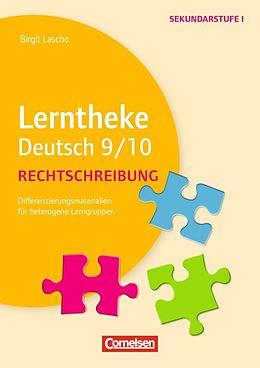 Lerntheke Deutsch 910 Schuljahr Rechtschreibung Kopiervorlagen
