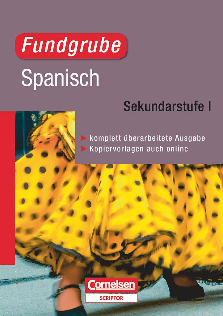 Fundgrube Spanisch S1 Lehrermaterial Katrin Kolmer Kurtz Buch