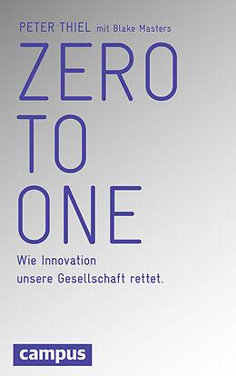 Fester Einband Zero to One von Peter Thiel, Blake Masters
