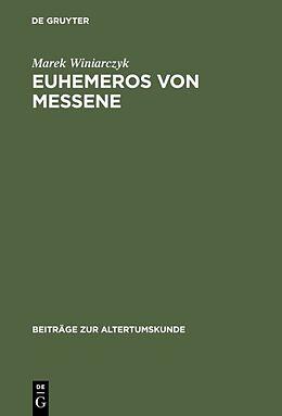 Fester Einband Euhemeros von Messene von Marek Winiarczyk