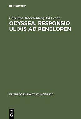 Fester Einband Odyssea. Responsio Ulixis ad Penelopen von