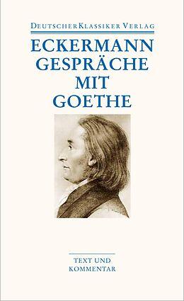 Gespräche mit Goethe [Versione tedesca]