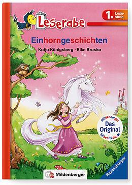 Fester Einband Leserabe 34, Lesestufe 1 - Einhorngeschichten von Katja Königsberg