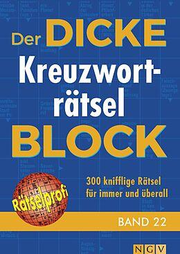 Der dicke Kreuzworträtsel-Block Band 22 [Versione tedesca]